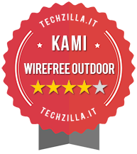 Badge Kami wirefree outdoor