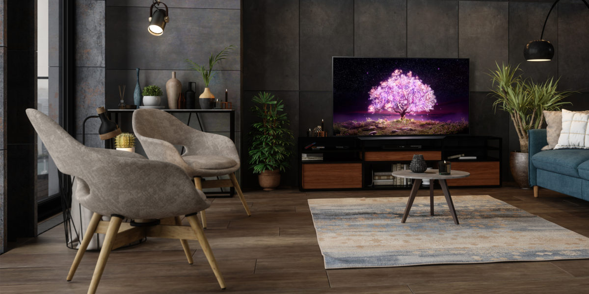 LG OLED TV C1 Ambient