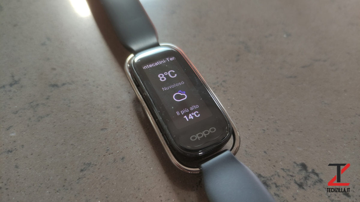 Oppo Style Band meteo