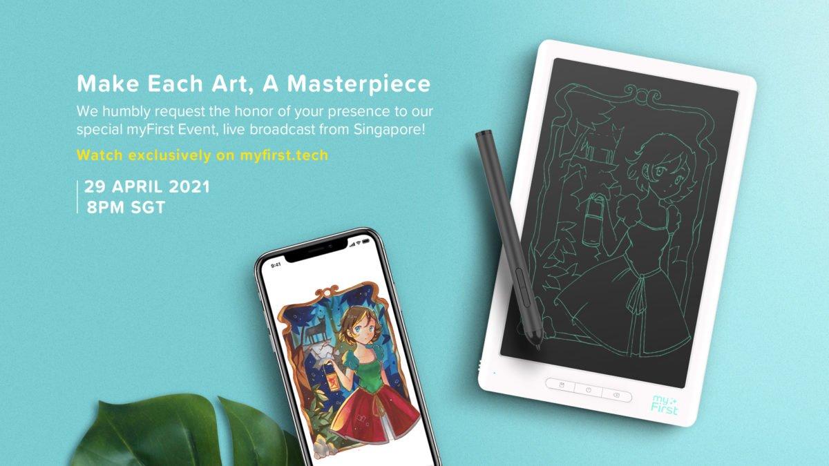 myFirst Sketch Book Launch Banner 1920x1080