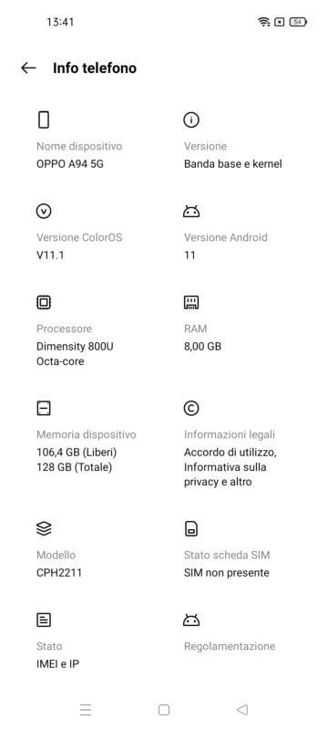 screenshot oppo a94 5G 8