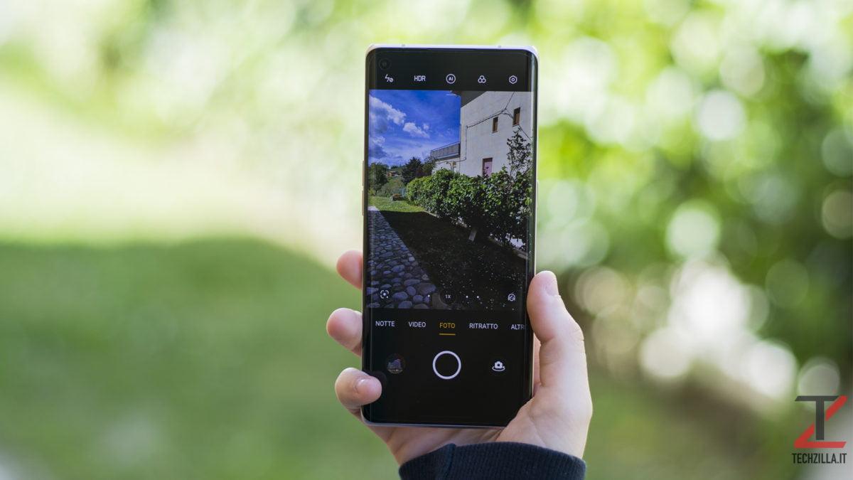 Fotocamera Oppo Find X3 Neo 5G