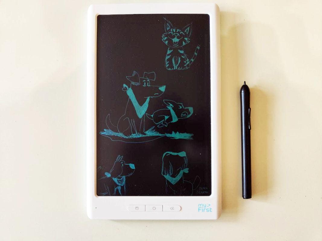 my first sketchbook techzilla