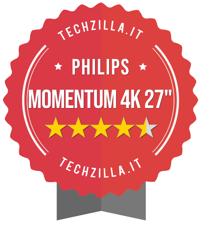 Badge Philips Momentum 4K 278M1R
