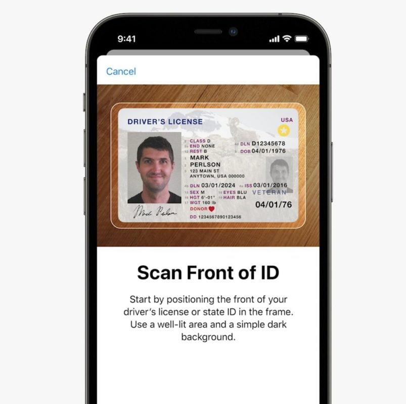Wallet iOS 15