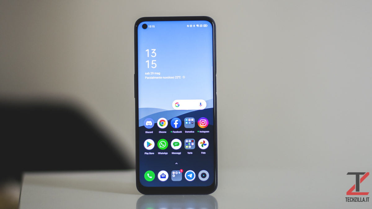 Display Realme 8 5G