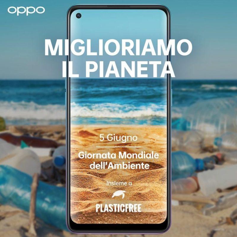 OPPO e Plastic Free 5 giugno
