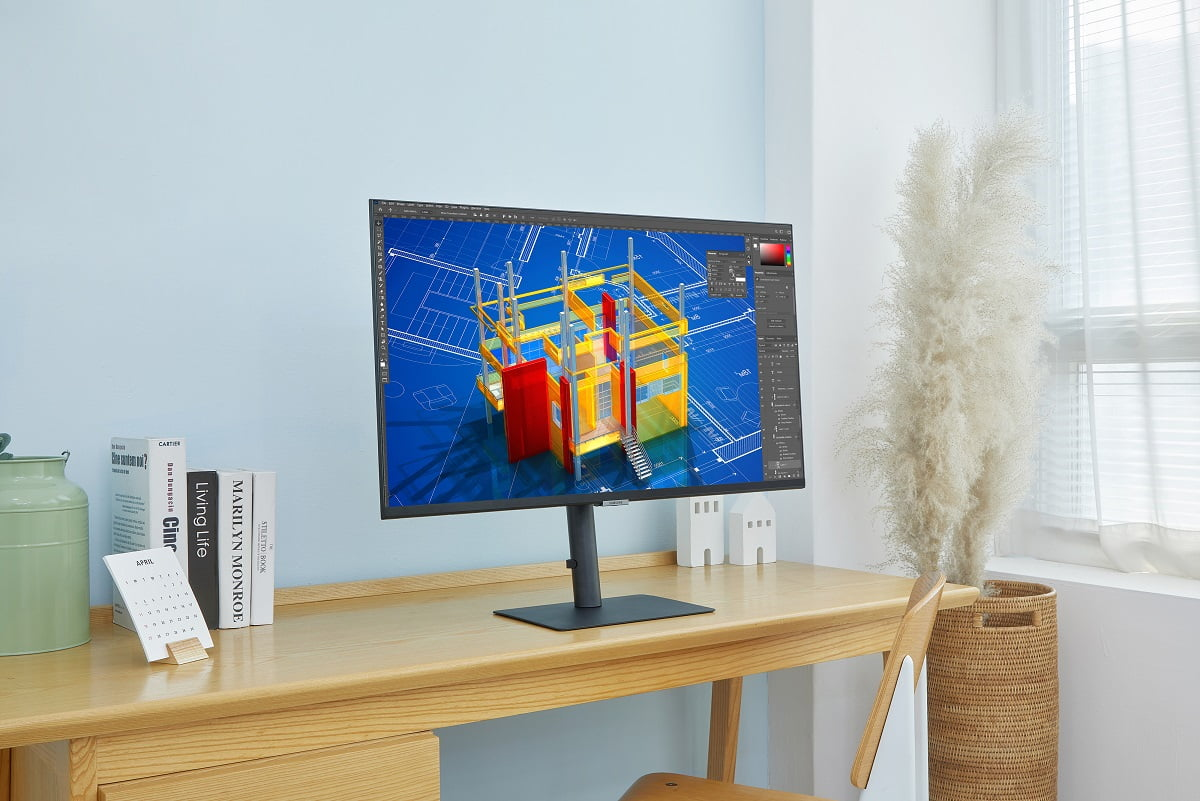 Photo Samsung Launches New High Resolution 2021 Monitor Lineup 5 LOW