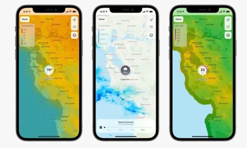 Weather iOS 15