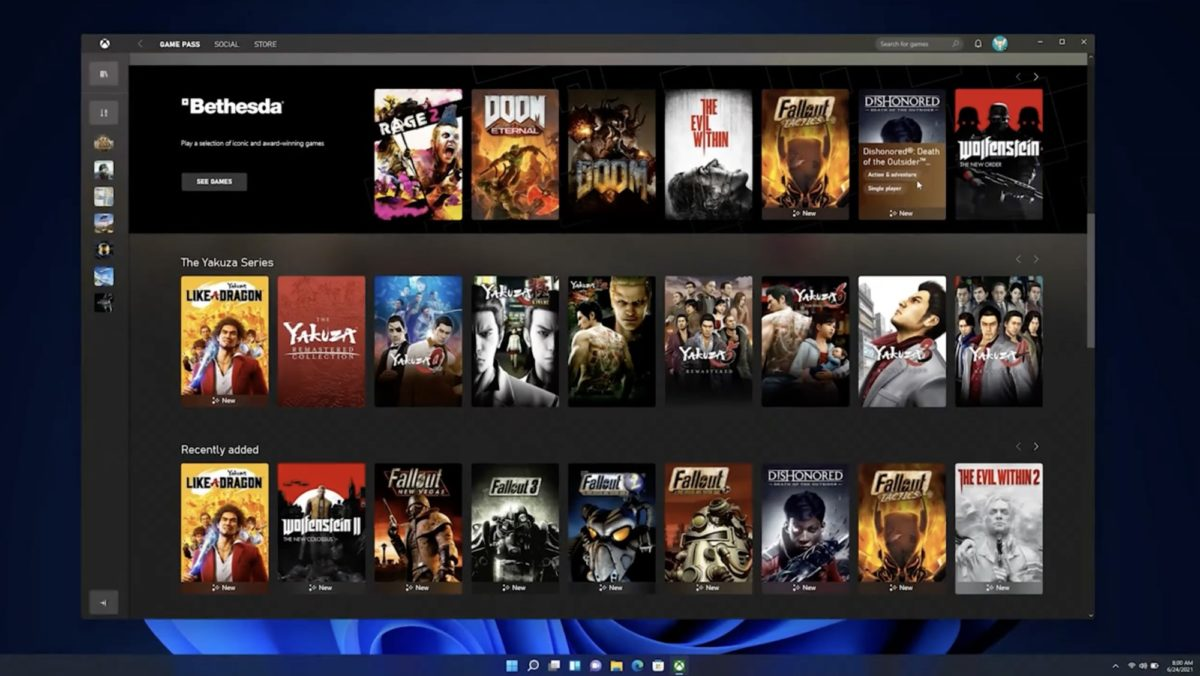 Windows 11 - Xbox
