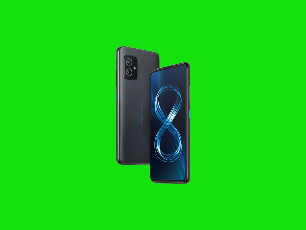 Gear Asus Zenfone 8 back and front SOURCE Asus