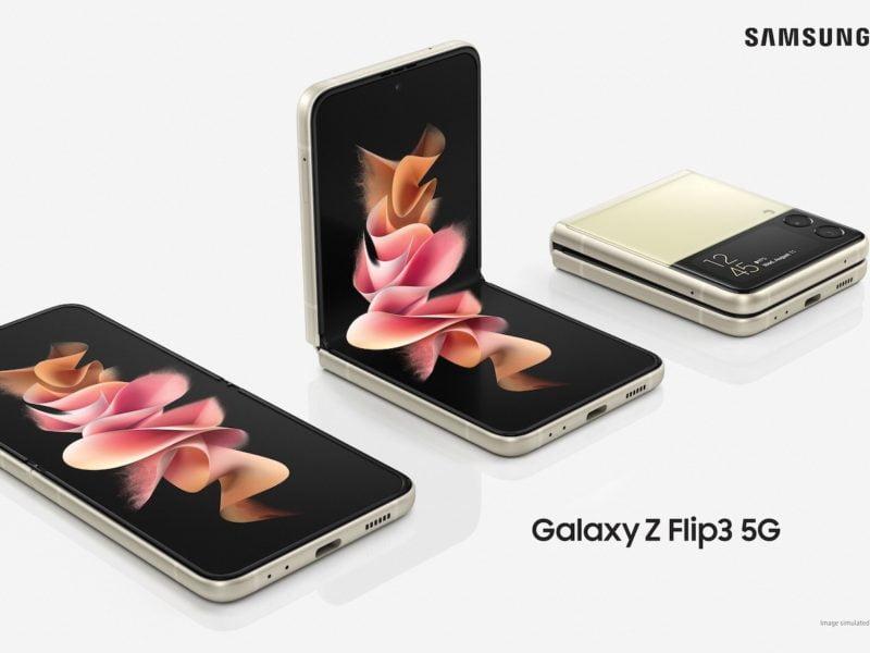Samsung Galaxy flip Z 3 5g tz 1