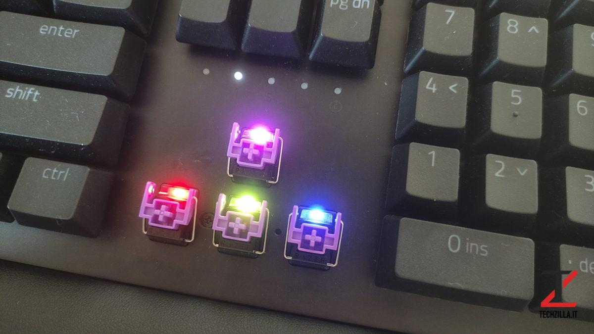 Nuova Razer Huntsman V2 Chroma RGB