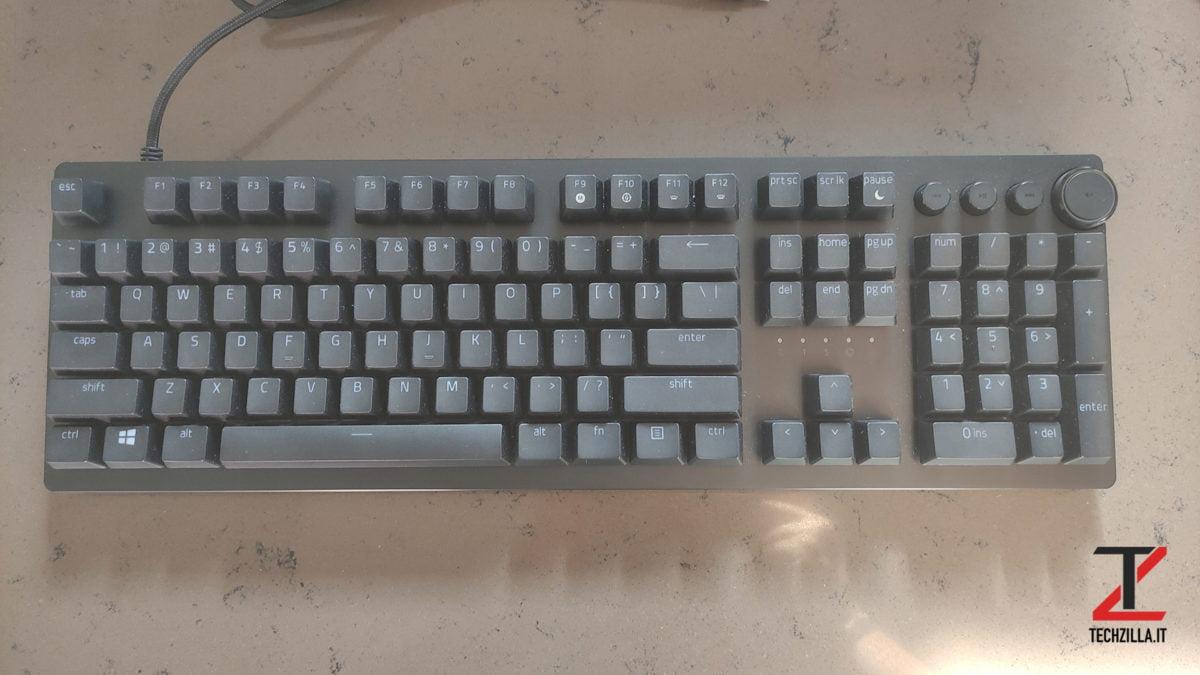 Nuova Razer Huntsman V2 tastiera