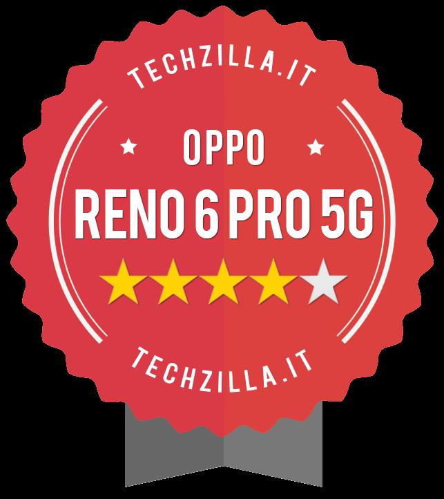 Badge OPPO reno 6 Pro 5G
