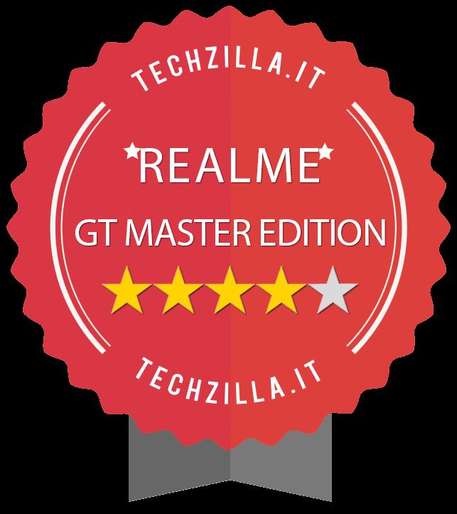 Badge Realme GT Master Edition