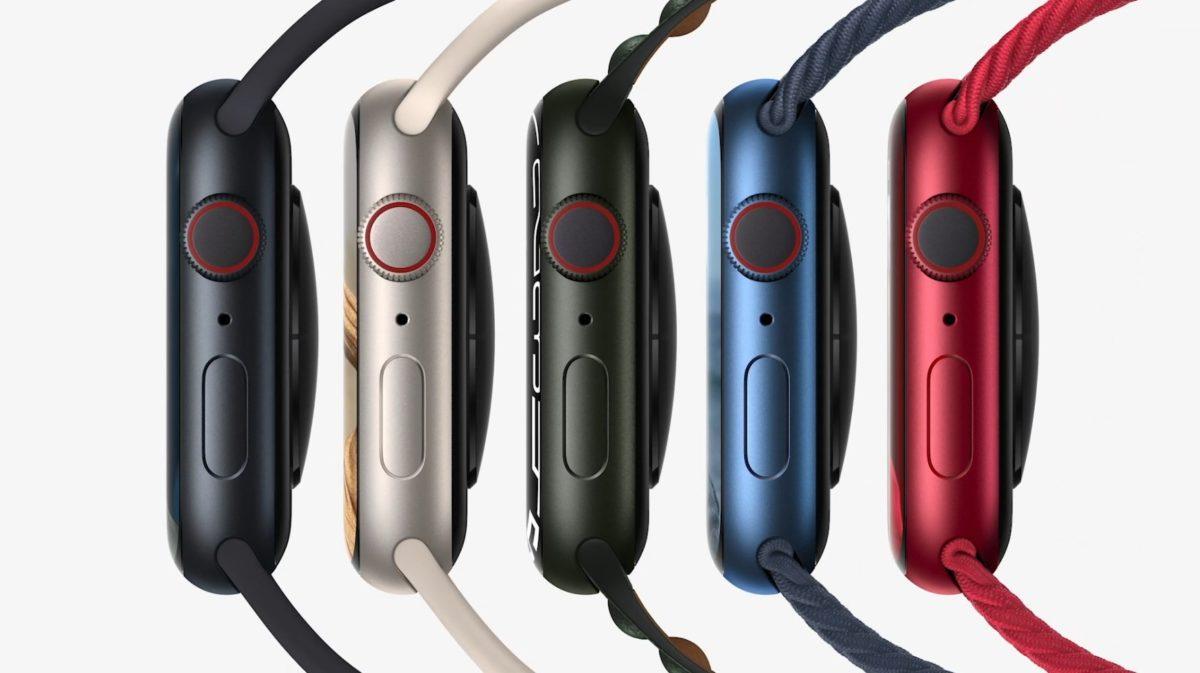 Colori Apple Watch Series 7