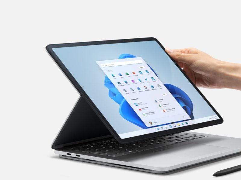 surface studio laptop