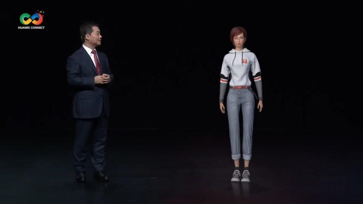 yunsheng huawei first virtual human 3